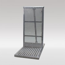 STAGE BARRIER ALUMINIUM 54 CM