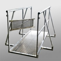 STAGE BARRIER GATE ALUMINIUM