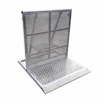 STAGE BARRIER ALUMINIUM 108 CM