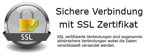 Sichere Verbindung mit SSL Zerifikat