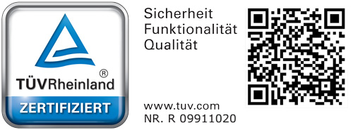 TÜV Rheinland Bauart, Sicherheit, Qualität, Prüfsiegel